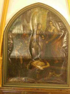 Bientôt, la restauration du second tableau de l'Eglise d'Audresselles dans art le-tableau-à-restaurer-225x300