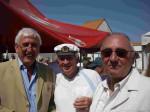 21.Hervé Poher,  Michel Mathurel dit l'amiral  et Marc Sarpaux