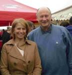 Brigitte Bourguignon et Dom Paul