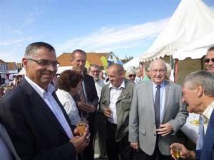 Francis Bouclet, Patrick Bernard, Christophe Pâque, Roger Tourret, Paul Ellart et Patrick Boucher