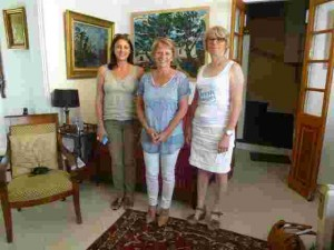 Katia Lotin, Brigitte Bourguignon et Martine Beaudraps
