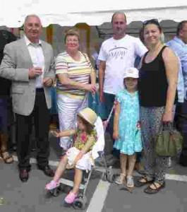 La famille Sarpaux fête du crabe 2014