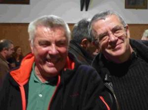 Jean-Jacques Baillet et Patrick Legrand (r)
