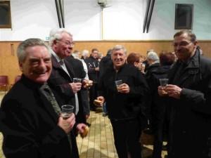 Paul Ellart, Martial Herbert,Alain  Martel et Francis Bouclet  (r)