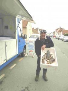 Jean-Jacques Baillet et le homard géant (2)