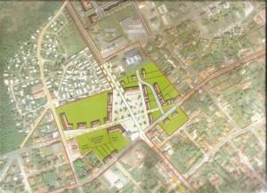 Ambleteuse plan du  projet de place (r)
