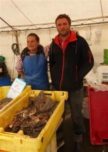 fête du crabe 15 mai 2016 Emilie et Jean-Yves Noël (r)