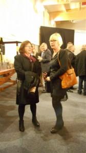la conseillère départementale et Sylvie Derouette janvier 2016