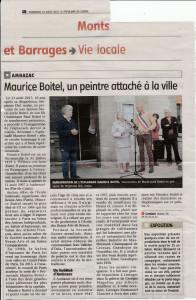 Le populaire du centre 18 août 2017 Maurice BOITEL - 1 (1)