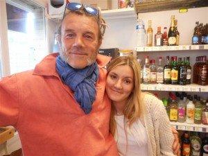 Stéphane et sa fille